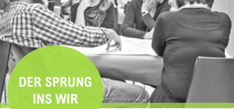 Der Sprung ins Wir – Weiterbildungsprogramm für co-kreative Prozesse